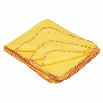 Andarta 34-025 Standard Yellow Dusters 50 x 40.5cm - Pack Of 10