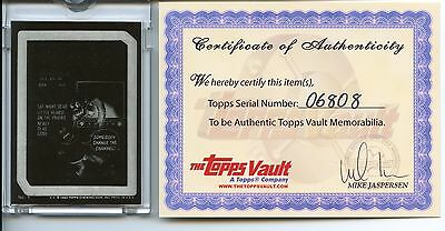 """1985 Topps """"Wacky Packages"""" Mask Negative #1 TV Ghoul"""