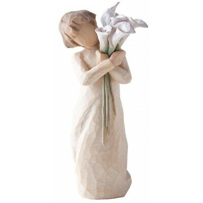 Demdaco Willow Tree Beautiful Wishes Hand Painted Resin Figurine - Boxed