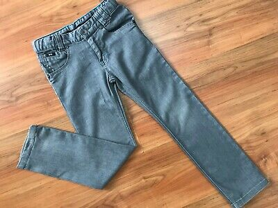 Boys AUTHENTIC Grey SLIM HUGO BOSS JEANS (age5-6) *GREAT COND*