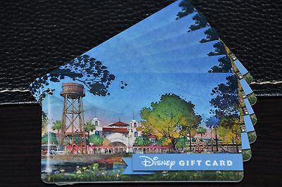 2016 Disney Collectible Gift Card Walt Disney World Disney Springs Water Tower