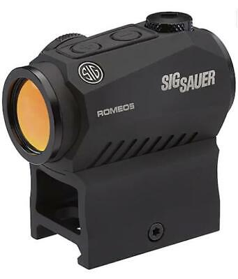 Sig Sauer ROMEO5 Compact Red Dot Sight 1x 20mm 1/2 MOA Adjustments 2 MOA Dot Ret