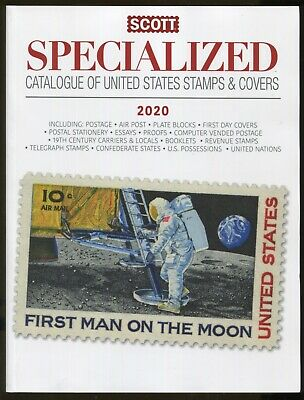New Scott 2020 Specialized United States Postage Stamp Catalogue US UN