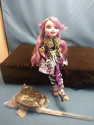 """Mattel, Ever After High doll Kitty Cheshire """"Spring Unsprung"""", 2014 STAND"""