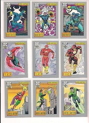 1991 Impel DC Universe Comics Trading Cards / U Pick / Choose From List (CHOICE)