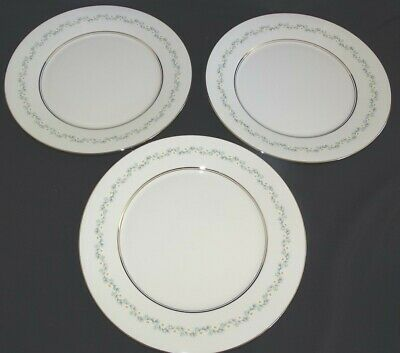 "Lenox Oxford USA Holyoke Set of 3 Dinner Plates 10 3/4"" - Bone China"