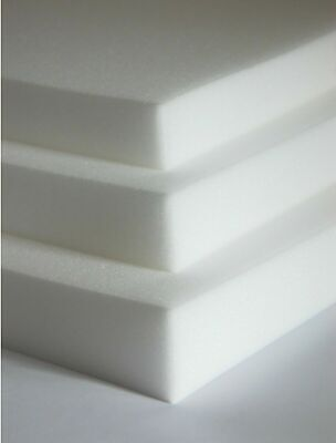 "80"" x 20"" Upholstery Foam Sheet - Select Foam Thickness 1"""
