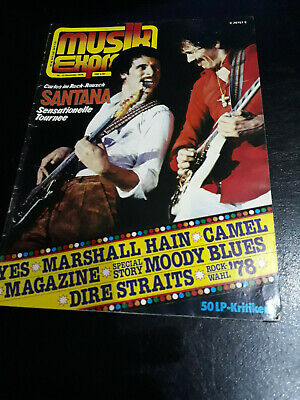 Musik Express 12/1978 Yes,Dire Straits,AC/DC,Moody Blues,Motörhead,Cliff Richard