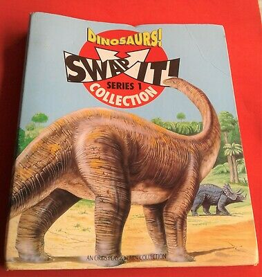 Dinosaurs! Swap It! Collection With Cards (Incomplete) - Series 1