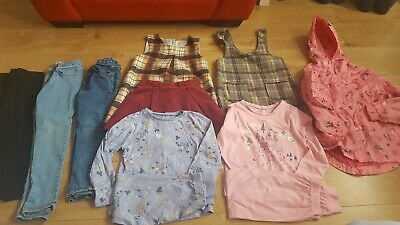 Girls Bundle Of Clothes Next Zara Age 5-6 Years In Blue Pink