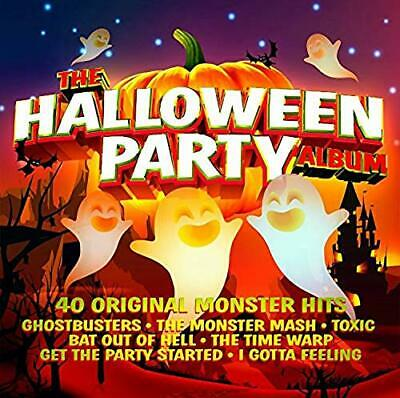 THE HALLOWEEN PARTY ALBUM 2 CD - Various Artists (Released October 4th 2019)