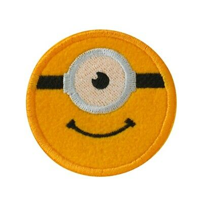 Despicable Me Minions Gru Embroidered Iron On Patch Costume Badge Applique G