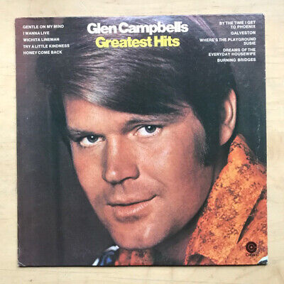 Glen Campbell Greatest Hits Lp 1969 Usa