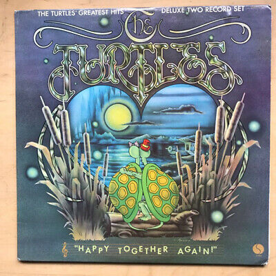 Turtles Happy Together Again - Greatest Hits Lp 1974 Double Album In G/Fold Cove
