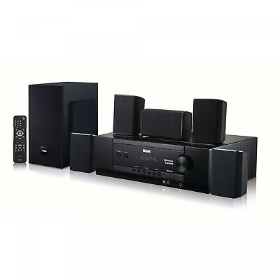Bluetooth Home Theater Speaker AM/FM Digital Tuner HDMI Audio Inputs W/Remote