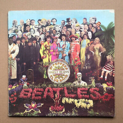 BEATLES SGT PEPPERS LONELY HEARTS CLUB BAND(ITALY) LP 1980 issue - nice VG copy,