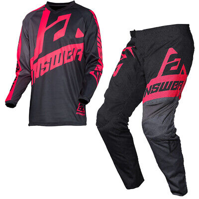 Answer Syncron Voyd Black Charcoal Pink Kit Combo