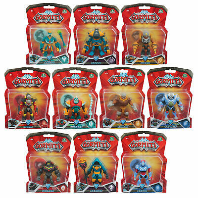 Gormiti Articulated 8cm Action Figures *Choose Your Favourite*