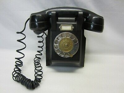 VINTAGE 1947~ERICSSON LM Wall Mount Bakelite Telephone~WORKING CONDITION