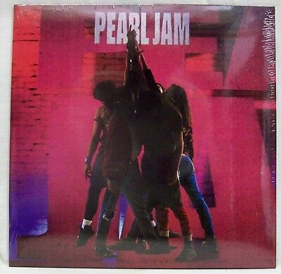 "NEW & Sealed! Pearl Jam ""Ten"" LP Vinyl Record (Epic-88985376871) Free Shipping"