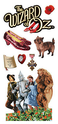 Dorothy Cowardly Lion 10 The Wizard of Oz Large Stickers Tin Man Scarecrow
