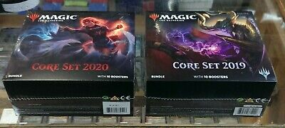 2 - Mtg Bundle - Core Set 2019 & Core Set 2020 - Both Factory Sealed !!