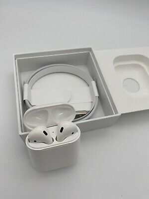 Apple AirPods 2nd Generation with Charging Case Latest Model - White-MV7N2AM/A