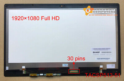"""13.3"""" FHD LCD Touch Screen Digitizer Assembly For Acer Aspire SP513-51 Series"""