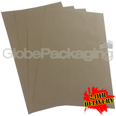 240 x QUALITY THICK BROWN KRAFT WRAPPING PAPER SHEETS 500x750mm *100% RECYCLABLE