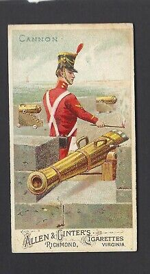 Allen & Ginter - Arms Of All Nations - Cannon