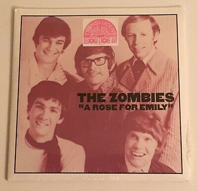 The Zombies / A Rose For Emily from Odessey and Oracle Lp / RSD 17 45 RPM / Mint