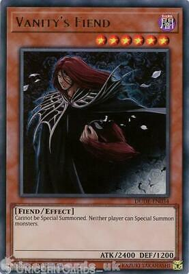 DUDE-EN034 Vanity's Fiend Ultra Rare 1st Edition Mint YuGiOh Card