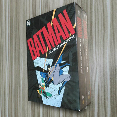 Batman The Complete Animated Series (12 DVD DISCS) Box Set Fast shipping