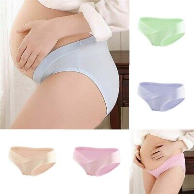 Pregnant Sd Womens Panties Knickers Waist Low Maternity Underwear Briefs Gifts