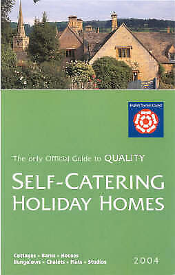 (Good)-Visitbritain Self-Catering Holiday Homes in England 2004 (Paperback)--070