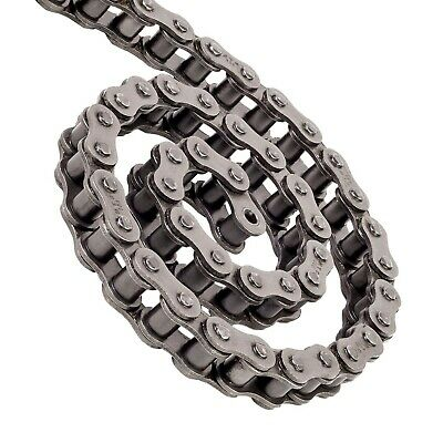 British Standard Simplex Roller Chain 1 Metre length and Free Conn Link