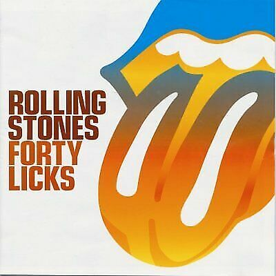 The Rolling Stones Forty Licks CD Greatest Hits 2 CD Set(Digitally Remastered)