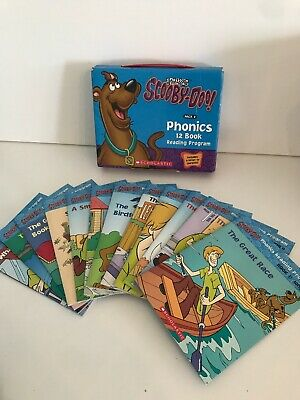 SCOOBY-DOO PHONICS 12 BOOK READING PROGRAM PACK 2 By Francie Alexander And VG