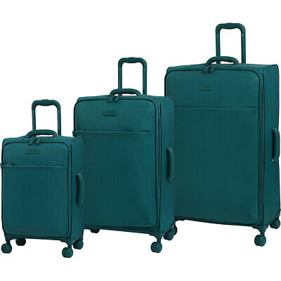 it luggage Lustrous 3 Piece Lightweight Expandable Luggage Set NEW