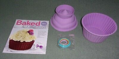Baked & Delicious Magazine Party Special with a Silicone Giant Cupcake Pan NEW