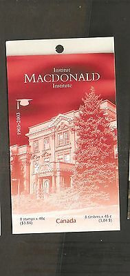 pk46313:Stamps-Canada #BK272 MacDonald Institute 8 x 48 cent Booklet-MNH