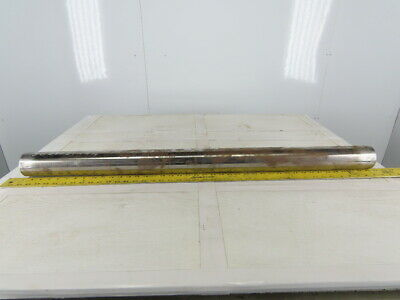 """2-7/8"""" OD 41-1/2"""" Crowned Face Weighted Conveyor Roller"""