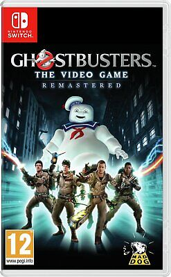Ghostbusters The Video Game Remastered Nintendo Switch 12+ Years