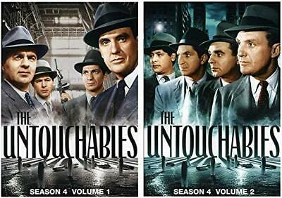 NEW - The Untouchables: Season 4 Volume 1 and Volume 2 (DVD 2-Pack)