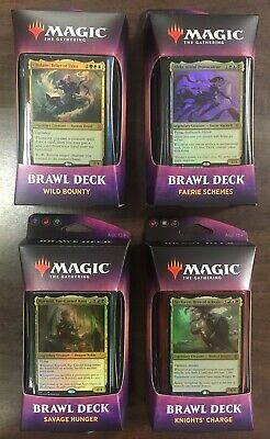 ***Sealed Throne of Eldraine Brawl Deck Set of 4***MTG ELD -Kid Icarus-