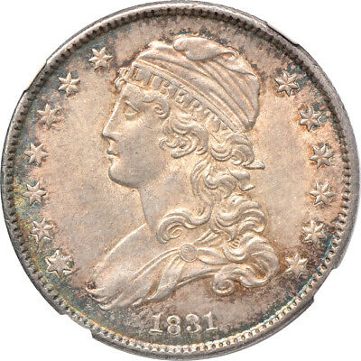 1831 Capped Bust Quarter MS / Mint State 62, NGC 25C C00042117