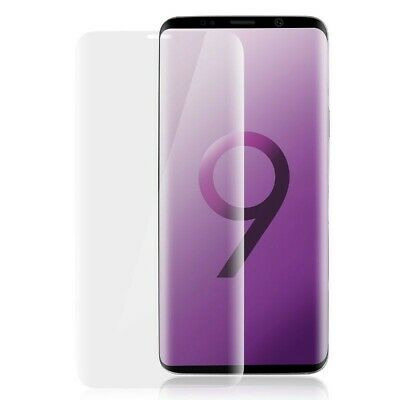 For Samsung Galaxy S9 Case Friendly 9H Curved Tempered Glass Screen Protector