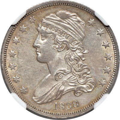 1838 Capped Bust Quarter MS / Mint State 61, NGC 25C C00038911