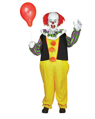 Halloween Animated Life Size 6 Foot IT PENNYWISE Clown Haunted Animatronic Prop