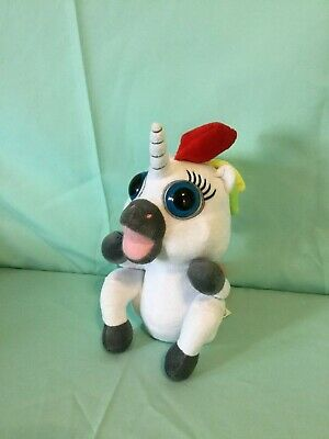 Dookie The Pooping Unicorn 7 Plush with Attached Rainbow Stool Fiesta